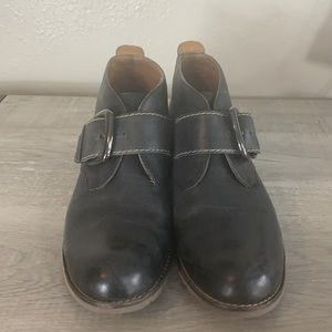 Sofft Black Buckle Boots size 9M
